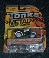 2015 Tonka Metal Diecast Bodies Police Motorcycle First Responders