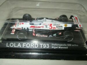 Miniature-Lola-Ford-T-93-500-Miles-Indianapolis-Mansel-Ixo-by-Altaya-1-43