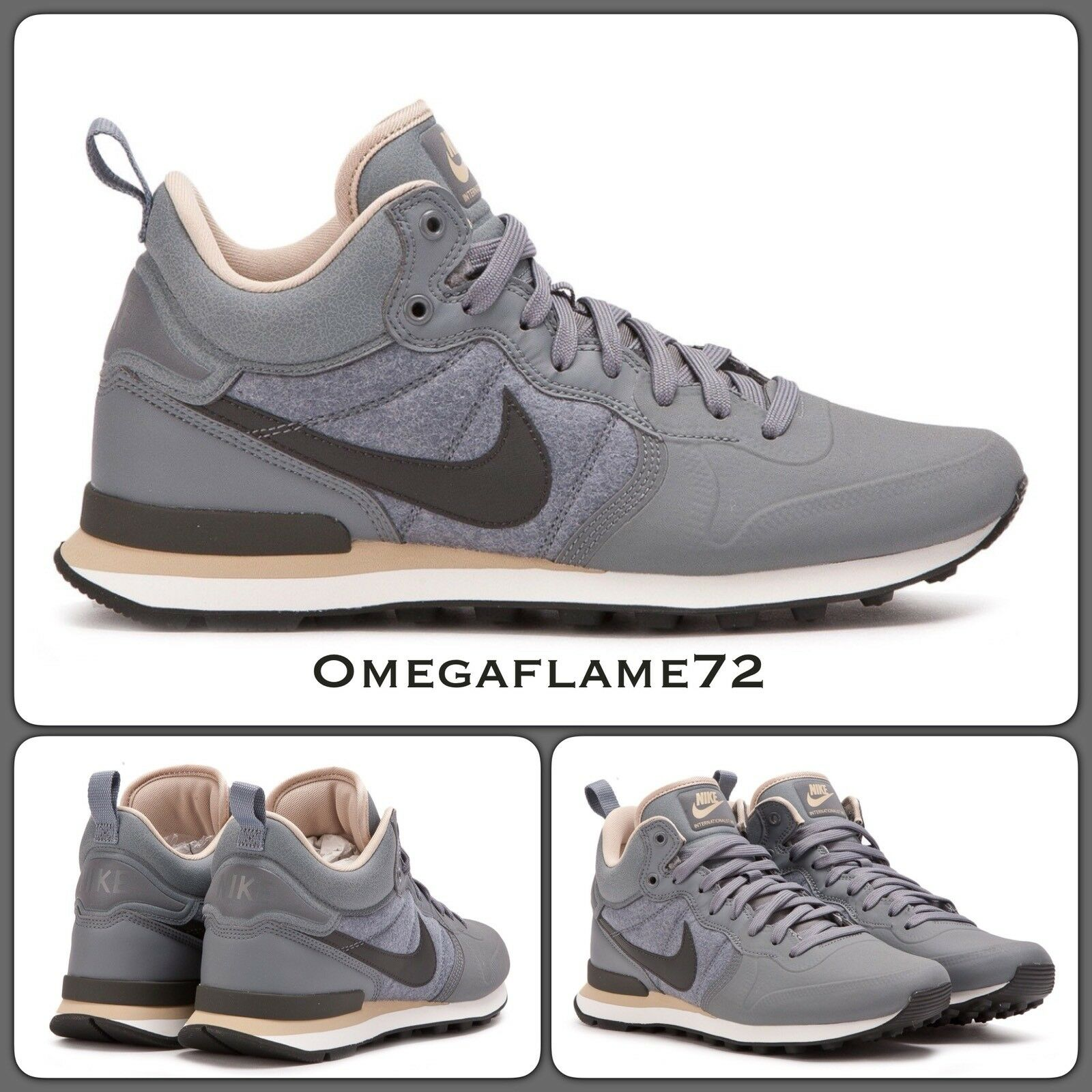Nike Internazionalista Utility scarpe da ginnastica avvio 857937-003, Tg. UE 42, US 8.5   Varietà Grande    Sig/Sig Ra Scarpa