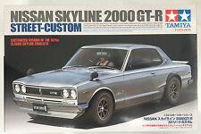 Tamiya 24335 Nissan Skyline 2000 GT-R Street Personalizado 1/24 Modelo Kit Nuevo En Caja