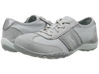 Women Skechers Cool It Sneakers 22488 Gray Suede 100% Authentic Brand