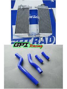 Aluminum Radiator/& Silicone hose Yamaha YZ250 YZ 250 2-Stroke 249CC 1996-2001