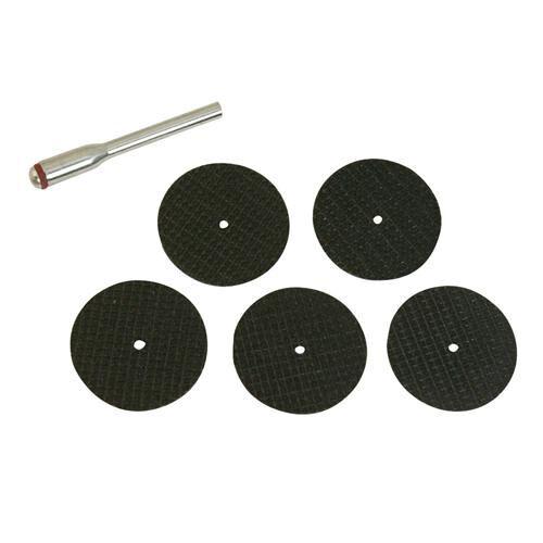 5 x 31 mm disques /& 1 x 3,1 mm de diamètre mandrin 6 Pièces Résine Coupe Disque Kit