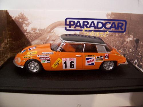 CITROËN DS ProugeO CHAMONIX 1970 1 43 PARADCAR SP018 voiture miniature collection