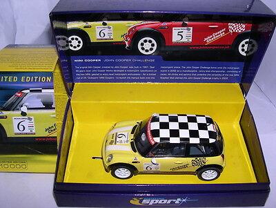 "Elektrisches Spielzeug Mb Sophisticated Technologies Scalextric C2485a Sport Mini Cooper ""jhon Cooper Challenge"" #6 Lted.ed Kinderrennbahnen"