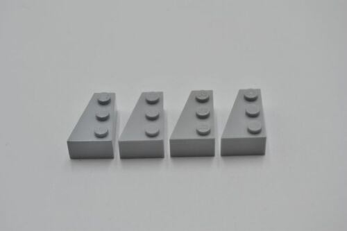 LEGO 4 x Keilstein links neuhell grau Light Bluish Gray Wedge 3x2 Left 6565