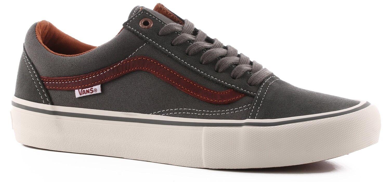 Vans Old Skool Pro Gunmetal/Burnt/Henna Skateboard Schuhe Shoes Gr.39-47