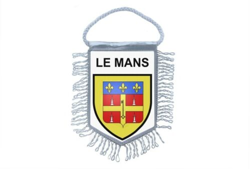 flag mini country flag car decoration souvenir coat of arms france le mans