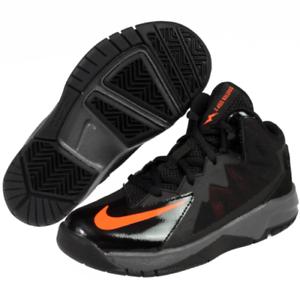 the best attitude d17a5 5e85d Image is loading Nike-Stutter-Step-2-Black-Bright-Orange-10-