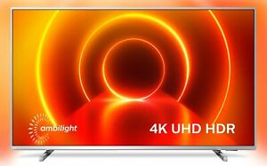 Philips 58PUS8105/12 LED-TV 58 Zoll, 4K Ultra HD, Smart-TV, 3-seitiges Ambilght