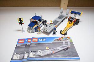 LEGO 60151 CITY DRAGSTER TRANSPORTER