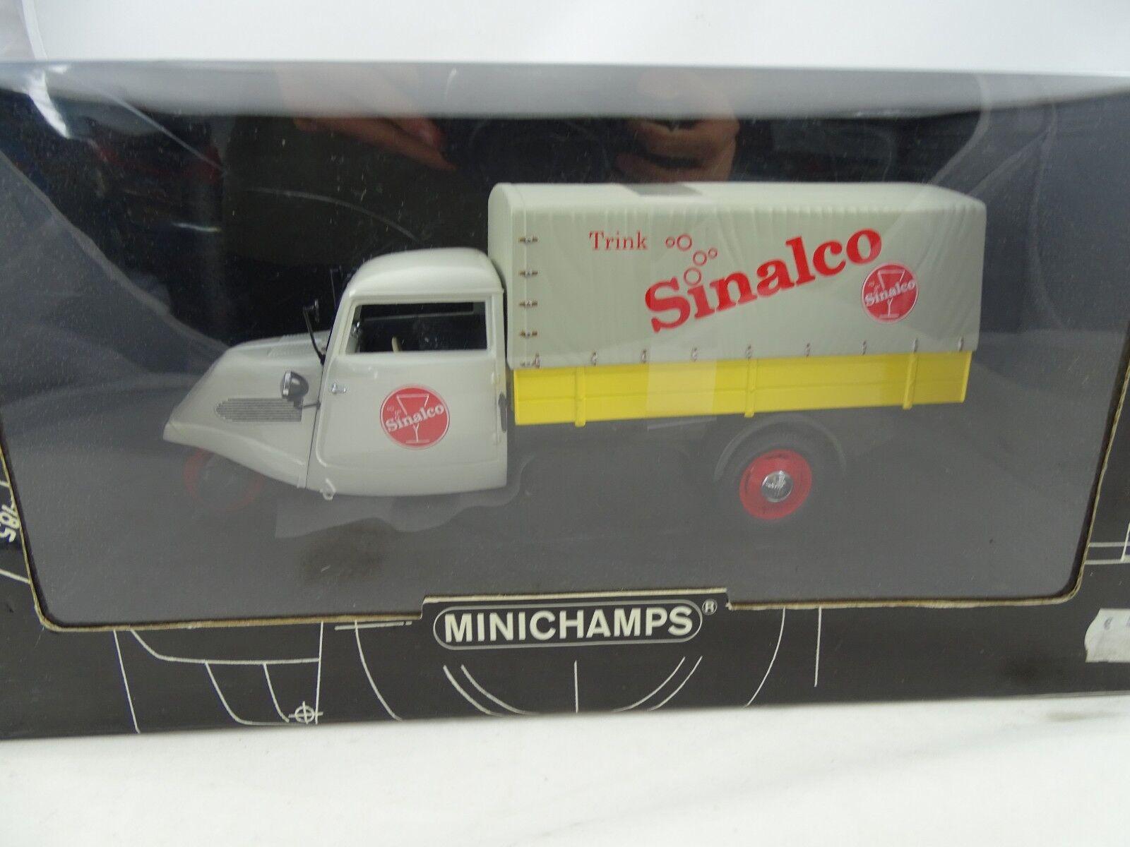 1 18 Minichamps Tempo 3 3 3 Wheeler canvas 1952  Sinalco  Lm.Ed. RARITÄT  85e58a