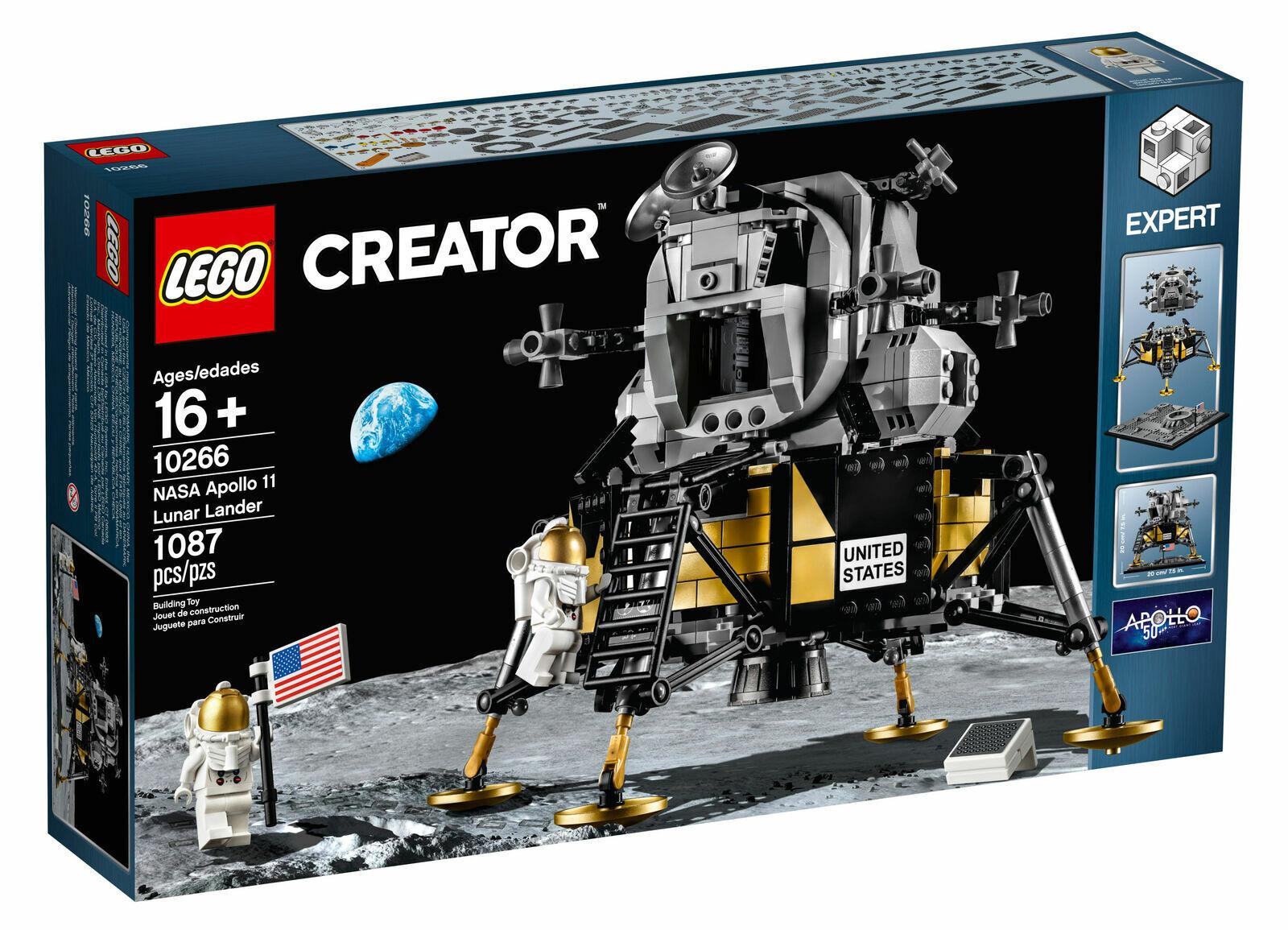 LEGO Creator  NASA Apollo 11 Lunar Lander (10266) echte versiegelte BNIB