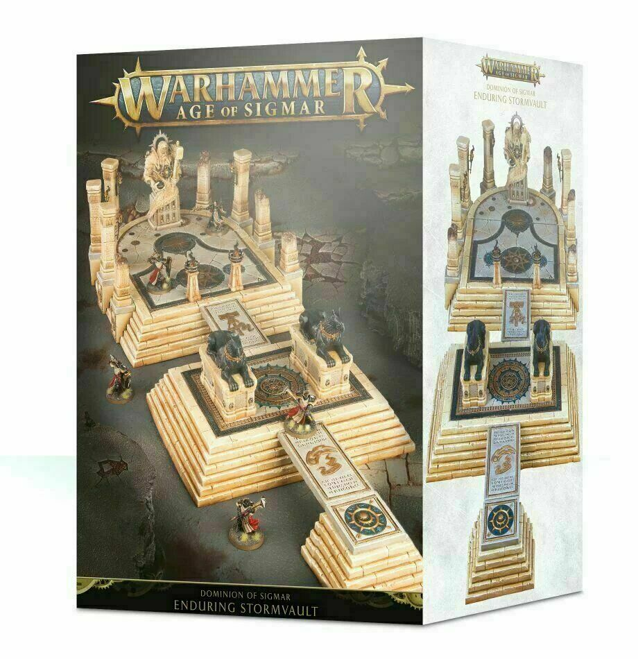 Dominion of Sigmar  The Enduring Stormvault - Warhammer AoS - Brand New  64-86