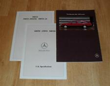 Mercedes W124 300TE 4Matic 24 Sportline Estate Brochure 1990