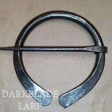 Nueva versión Medieval Larp Cosplay Viking manto Pin Penannular Broche