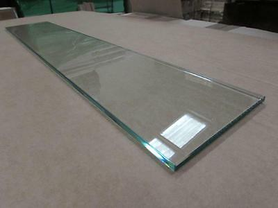 Toughened 8mm Glass Decking Stair Shelving Panels 820mm x 150mm