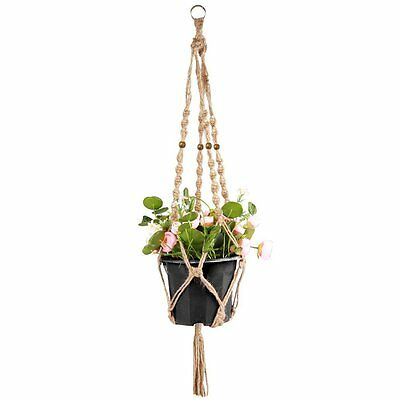 Plant Hanger, StarVast Decorative Indoor/Outdoor Hand-knitted Hanging Planter 4