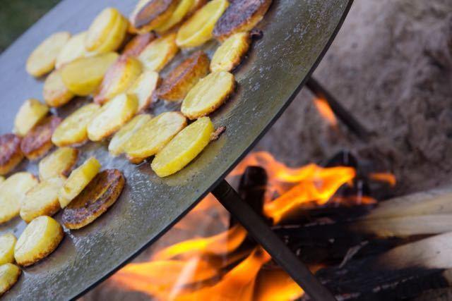Petromax Feuerschale Feuerschale Feuerschale Grill Kochen Braten Outdoor Camping 38 cm 1a6c0d