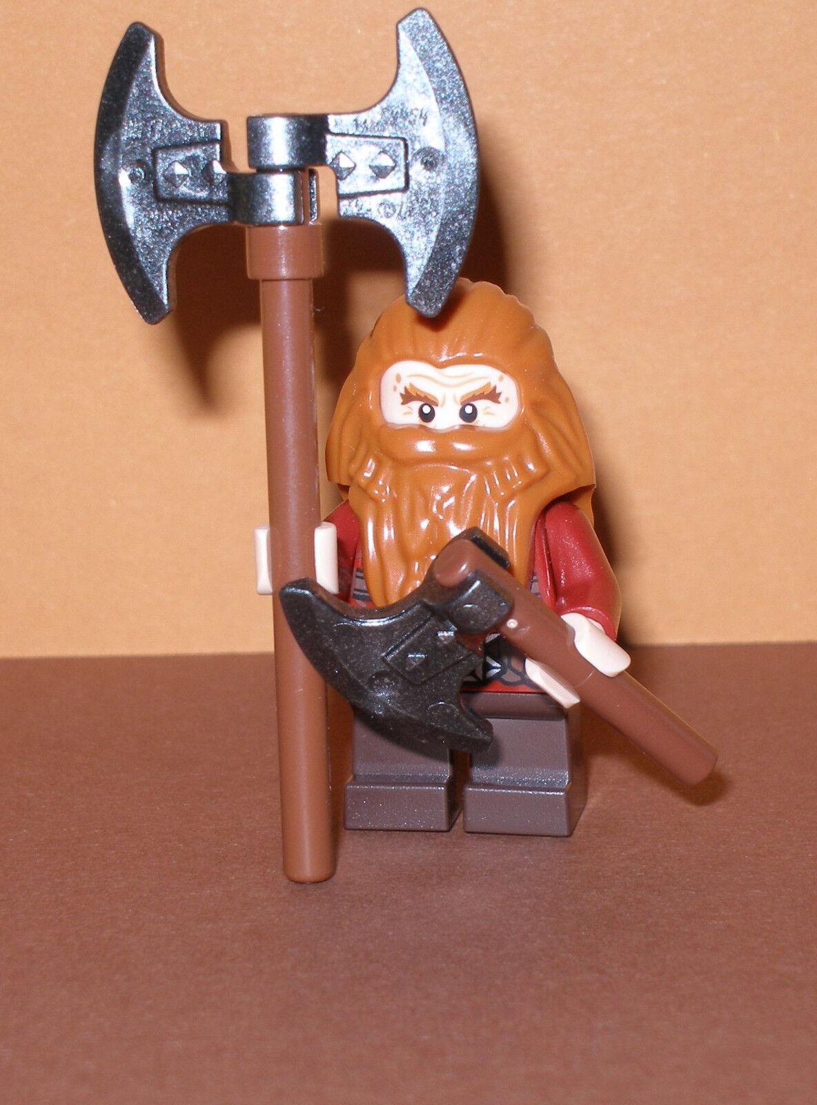 Lego Der Hobbit   Der Herr der Ringe  Gloin  mit Zubehör Minifigur