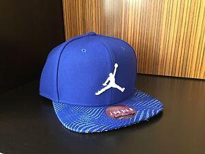 Nike Air Jordan retro 12 Royal Blue Suede red white HAT Cap SNAPBACK ... 1fa96f70cf0d