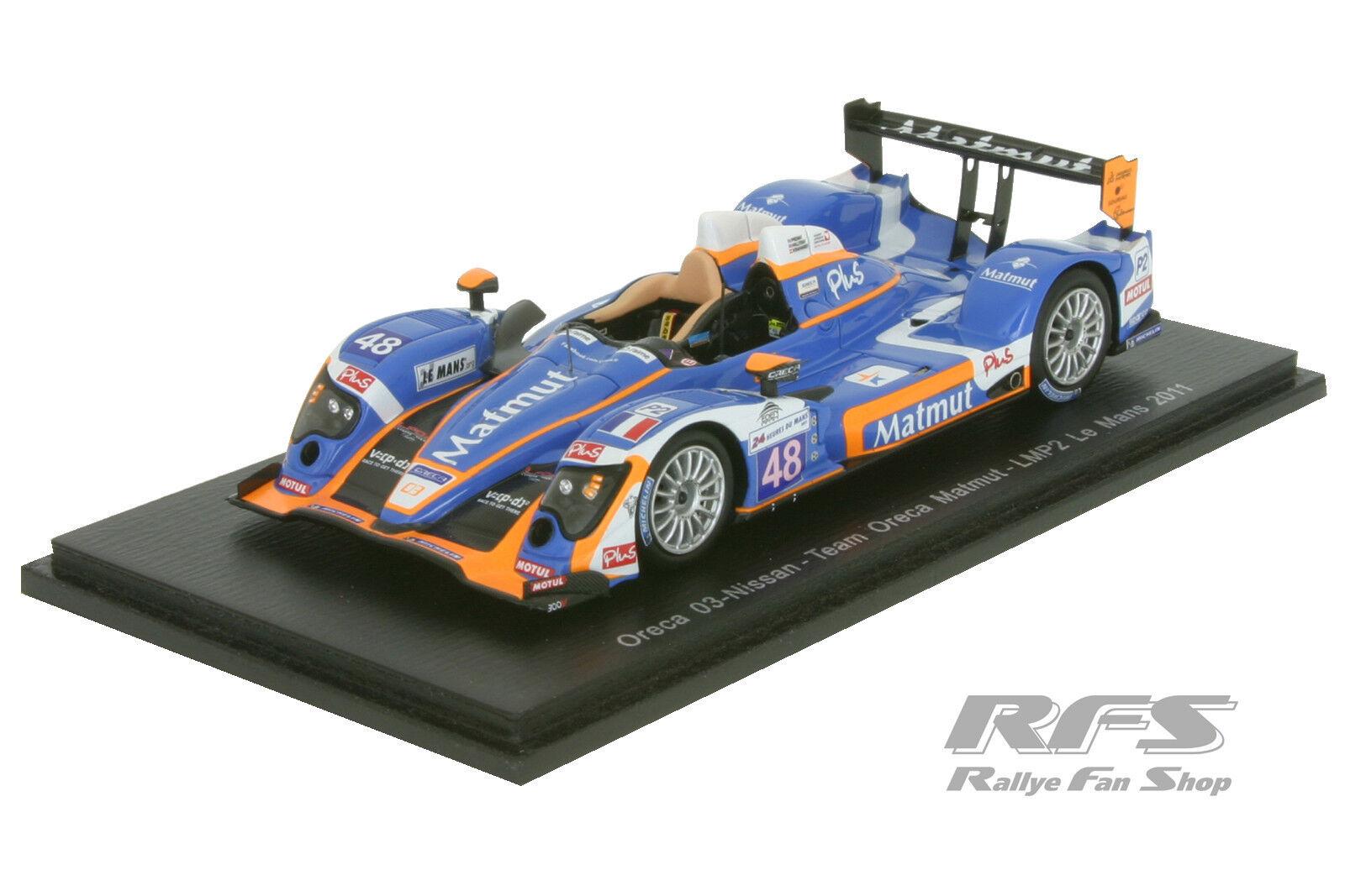 Oreca 03 NISSAN - 24h Le Mans 2011-Team Oreca-Matmut - 1 43 SPARK 4556