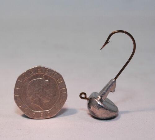 10 xTip up jigheads stand up jig head lure fishing soft plastic fishing jigging