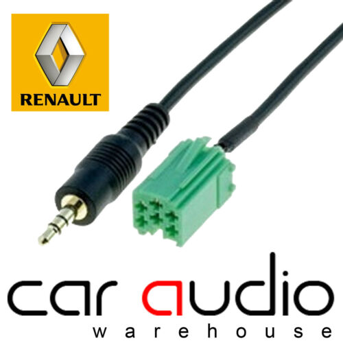 CT29RN02 RENAULT Clio 2005-11  Car Stereo MP3 iPod iPhone Aux In Interface Cable