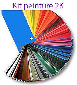 Discipliné Kit Peinture 2k 1l5 Ral 1019 Graubeige-1 / 100% De MatéRiaux De Haute Qualité