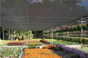 2x6 m 60% UV Black Shade Cloth Sunshade Fabric Greenhouse