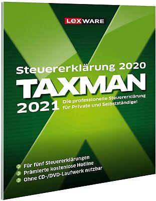 Lexware Taxman 2021 Vollversion Steuererklärung / Jahr ...