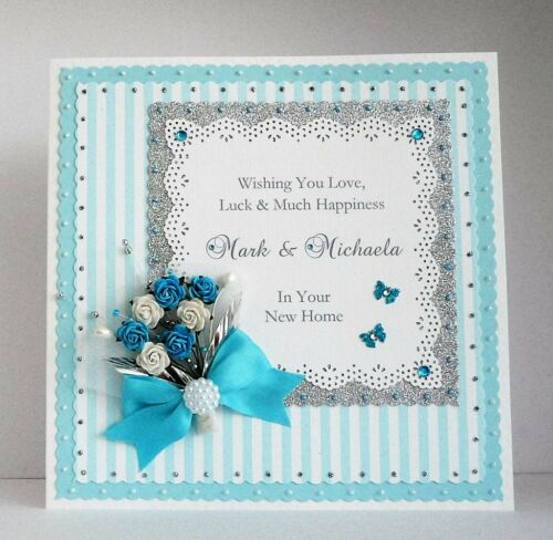 Personalised New Home Card Large BoxedDaughter//Son//Special Couple etc