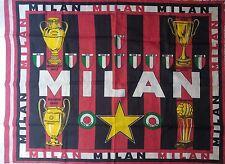 BANDIERA AC MILAN VINTAGE 1979-80 FLAG DRAPEAU BANDERA no sciarpa maglia shirt
