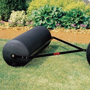 Tow-Behind-Poly-Lawn-Roller-Brinly-Hardy-18-in-x-48-in-485-lb-Sod-Topsoil