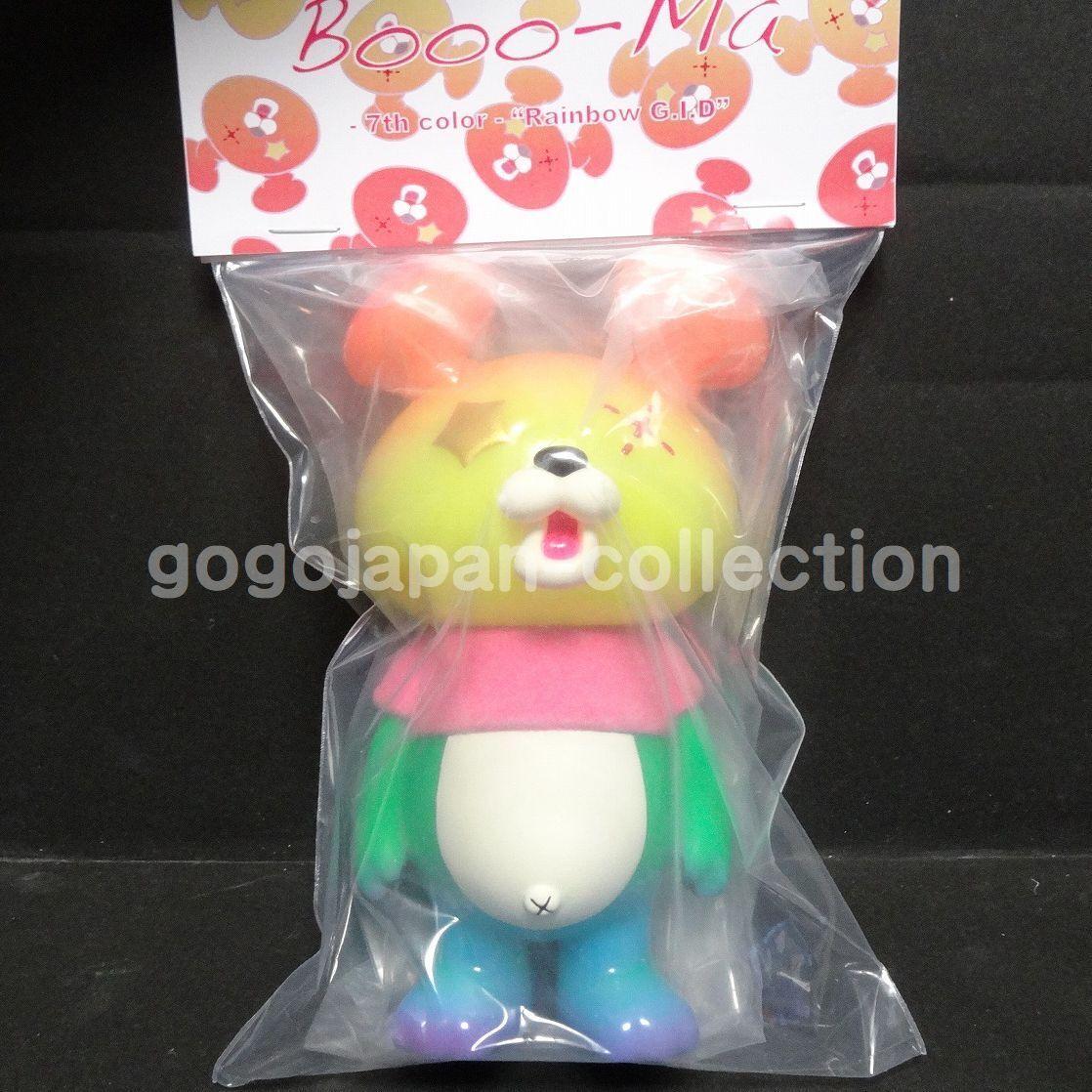 TOKYO COMIC CON 2018 INSTINCTOY Booo-Ma 7th Rainbow G.I.D FIGURE