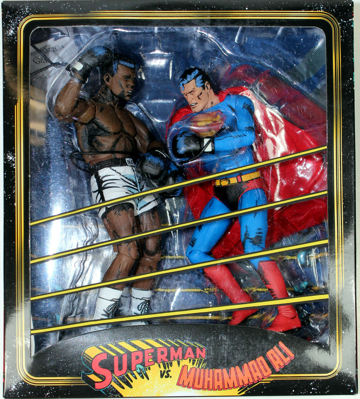 DC Comics  SUPERMAN vs. MUHAMMAD ALI SPECIAL EDITION ACTION FIGURE SET  NECA