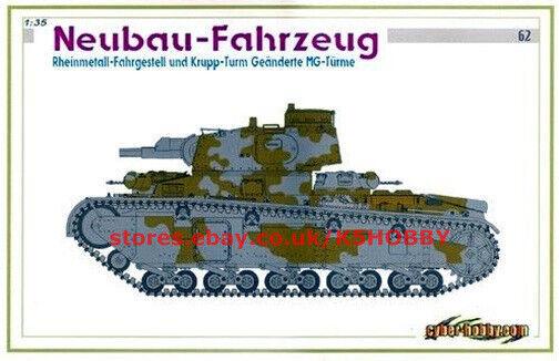 Dragon 6666 1 35 Neubau-Fahrzeug CyberHobby White Box limited Edition