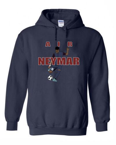 """Neymar Paris Saint-Germain F.C /""""Air Neymar Pic/"""" shirt Hooded SWEATSHIRT"""
