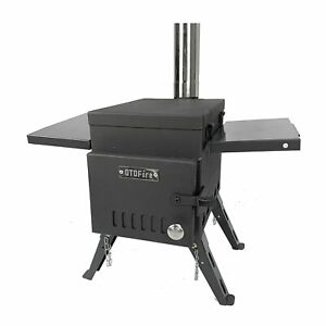 OTOfire Camping Wood Stove Portable Cooking Heating Wood Burning Stove For 1