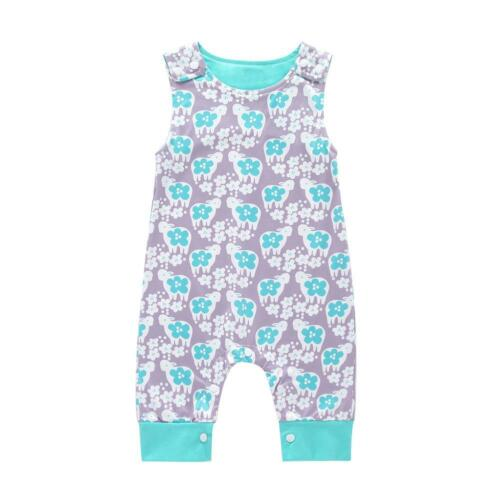 Newborn Baby Animal Rompers Cotton Infants Sleeveless O Neck Jumpsuit Clothes