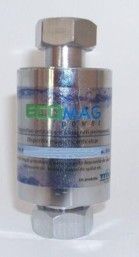 """ANTICALCARE MAGNETICO ECOMAG POWER 1//2/"""" FILTRO ANTI CALCARE TUBAZIONI CALDAIE"""