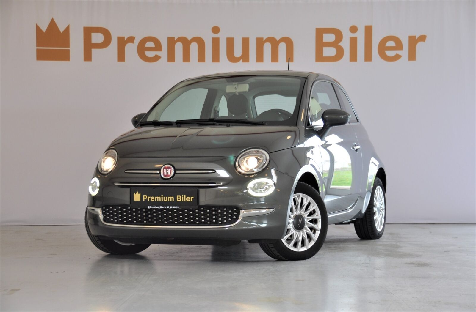 Fiat 500 1,2 Prince 3d - 117.800 kr.