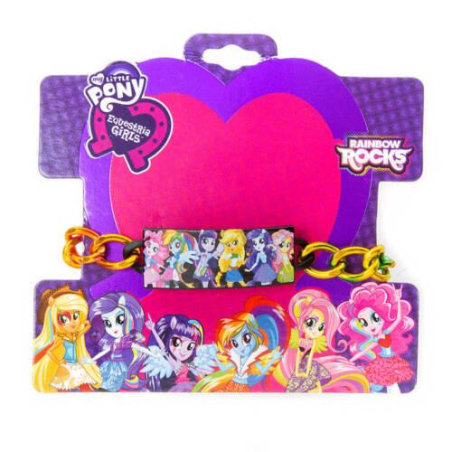 My Little Pony ID Bracelet Equestria Girls Hasbro Fluttershy Apple Jack NWT