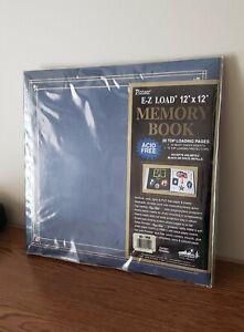 "NEW SCRAPBOOKING PIONEER EZ-LOAD PURPLE 12/""X12/"" MEMORY BOOK ACID FREE"