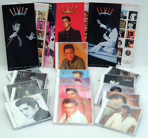 Elvis Presley - 15 CDS - Essential Masters 50's 60's 70's - 3 COLLECTOR BOX SETS