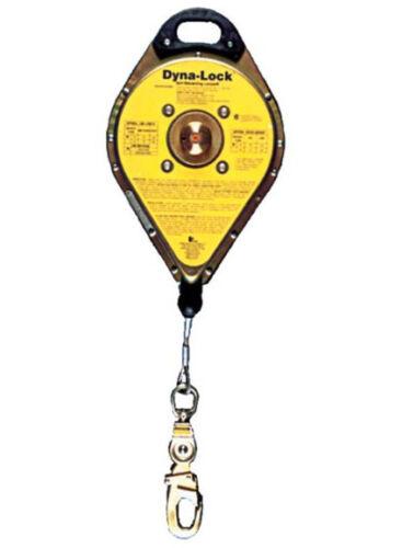 MSA 506202 Dyna-lock Self-retracting Lanyard 30\' Galvanized Wire ...