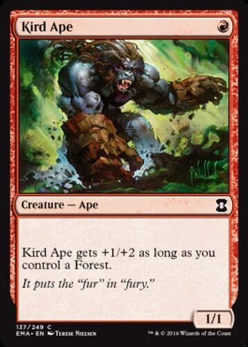 1x Kird Ape NM-Mint English Eternal Masters MTG Magic