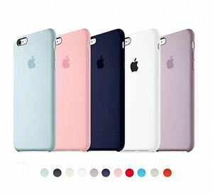 1602087705e ORIGINAL Silicone Back Case For Apple iPhone 6 6S Plus 7 7Plus 5 5S ...