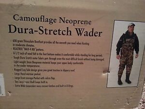 Foot Taglia Wading Foot 11 Camouflage Neoprene New Waterfowl Waders Systems dn8qxpY6wY