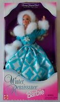 "Mattel Barbie Year 1996 Special Edition Evening Elegance Series 12 Inch Doll - Winter Renaissance Barbie with Evening Gown, Jacket with Luxurious ""Fur"" Trim, Hair Band, Shoes and Hair Brush Toys"